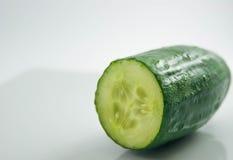有机新鲜的黄瓜 免版税库存照片