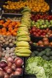 有机新鲜蔬菜和果子 库存照片