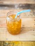 有机橙汁 库存照片