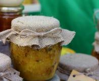有机的蜂蜜 库存图片