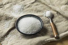 有机粗糙的海盐 免版税图库摄影