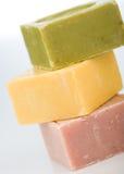 有机肥皂 免版税库存图片