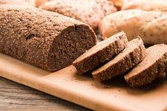 有机荞麦面包 免版税库存图片