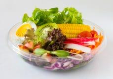 有机菜沙拉 免版税库存图片