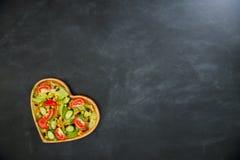 有机营养新鲜的可口健康食物 免版税库存照片