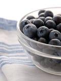 有机蓝莓 免版税库存图片