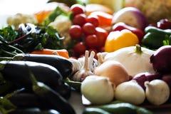 有机蔬菜 免版税图库摄影