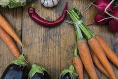 有机蔬菜 库存图片