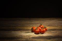 有机西红柿 库存照片