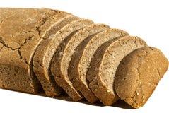 有机酵母切的面包 库存图片