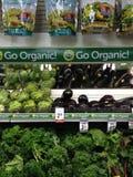 有机食品 免版税库存图片