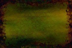 有机1背景花卉的grunge 免版税库存照片