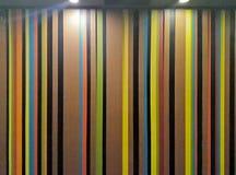 有条纹样式的墙壁作为背景 免版税库存图片