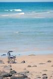 有椅子的热带天堂 图库摄影