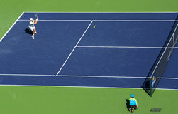 Novak Djokovic在Indian Wells 2013年 免版税库存照片