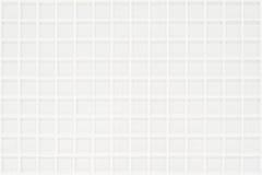 有正方形的白色玻璃状瓦片 库存图片