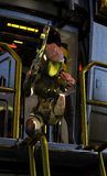 有步枪的外籍人科学幻想小说战士 皇族释放例证