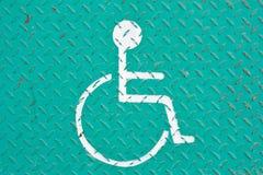 有残障的符号 库存图片