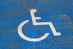 有残障的符号 免版税库存照片