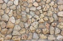 有水泥的,纹理石墙 库存图片