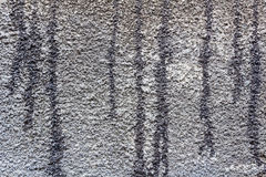 有沥清乳香树脂踪影的混凝土墙  抽象背景 库存图片