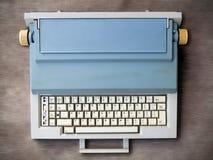 有波兰键盘的电子打字机 免版税图库摄影