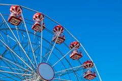 有清楚的蓝天的弗累斯大转轮 图库摄影