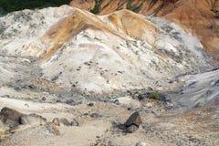 火山的土地 库存图片