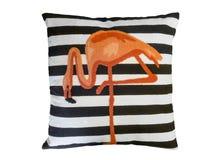 有火鸟的样式的装饰枕头 免版税库存图片