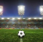 有爱好者的体育场 免版税库存照片