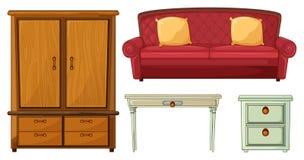 有用的家具 免版税库存照片