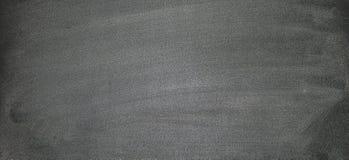 有白垩乱画的黑板,可能后投入更多文本在a 免版税库存照片