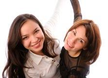 有的乐趣二个妇女年轻人 库存照片