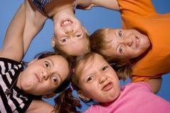 有的乐趣孩子 免版税库存照片