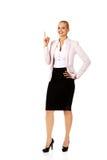 有的商业想法妇女年轻人 免版税库存照片