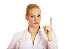 有的商业想法妇女年轻人 免版税图库摄影