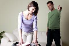 有的夫妇问题, 免版税库存图片