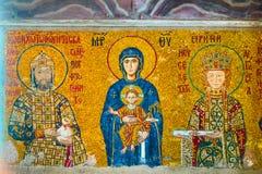 有的耶稣基督圣女玛丽亚 免版税图库摄影