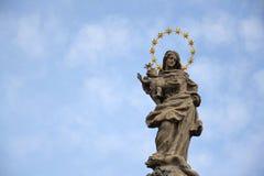 有的耶稣基督圣女玛丽亚 免版税库存照片
