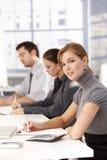 有的businessteam会议办公室年轻人 图库摄影