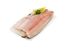 有皮肤的鳟鱼内圆角 库存图片