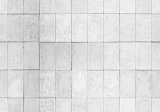 有盖瓦的白色墙壁 背景无缝的纹理 库存图片