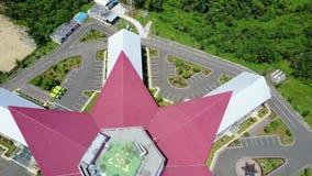 有直升机场的屋顶 股票录像