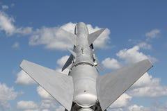 飞过的铁鸟 图库摄影