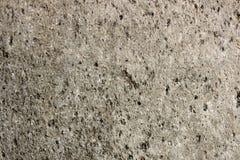 有石头的混凝土墙 免版税库存照片