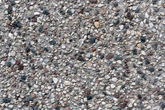 有石头的背景和纹理灰色混凝土墙 免版税库存图片