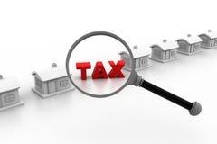 有税的议院 免版税库存照片