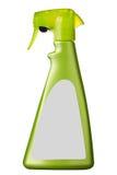有空白的标签的浪花瓶 库存照片