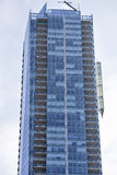 有窗口和阳台的现代摩天大楼 多伦多,加拿大 库存图片