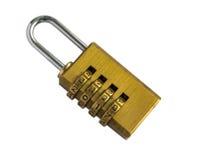 有第的2017号码锁被隔绝的 免版税库存照片
